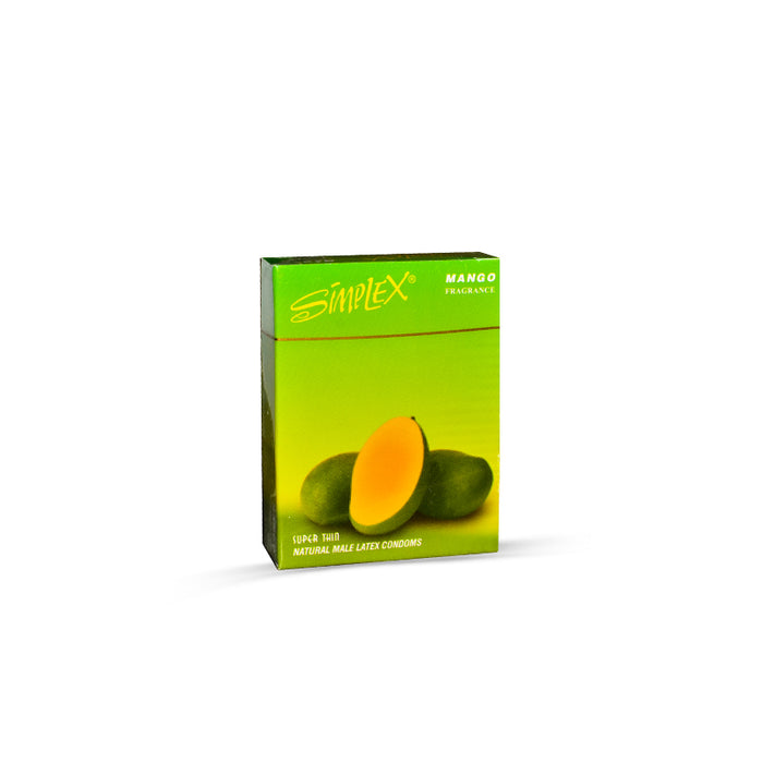 Simplex Mango Flavoured Condoms