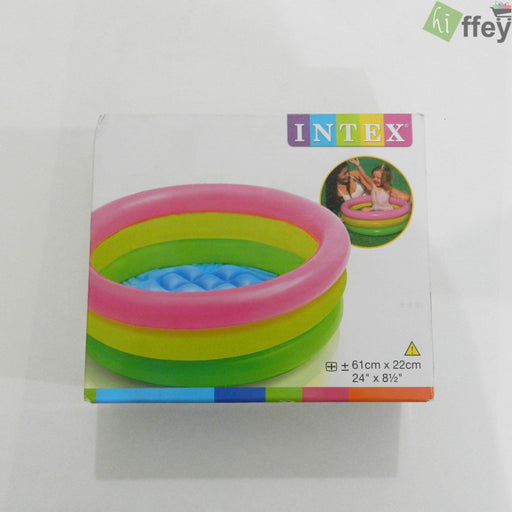 INTEX Classic 3 Ring Pool-Small - Hiffey