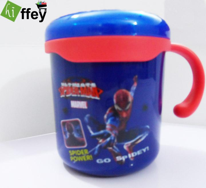 Spiderman Cartoon Stainless Steel Cup for Kids - Hiffey