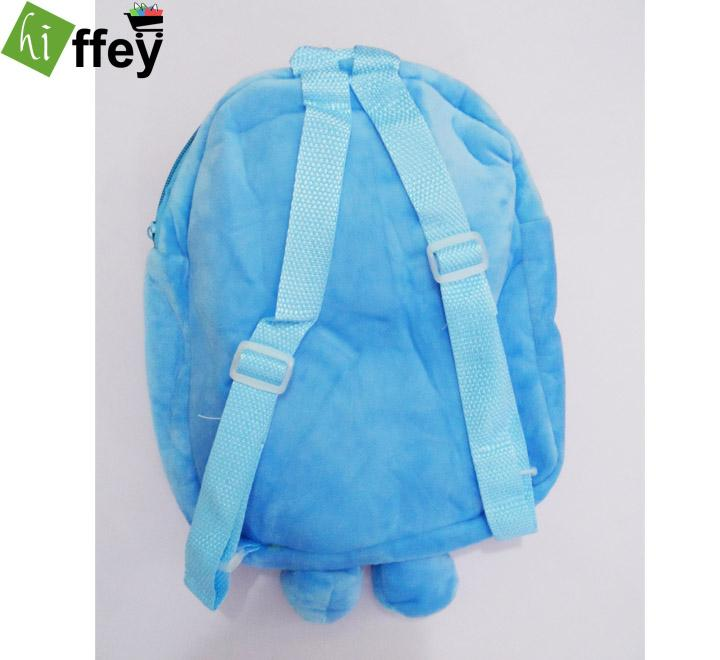 Stitch Velvet School Bag for Kids