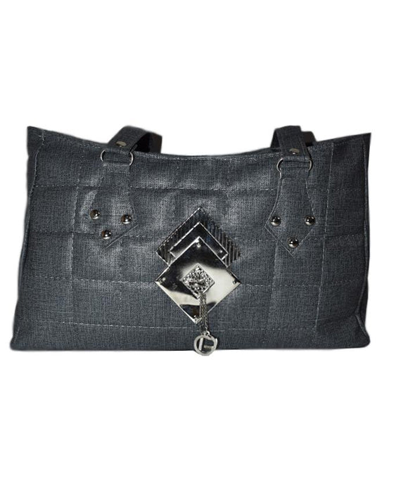 D & G Synthetic Leather Purses for Women's - Dark Grey - Hiffey