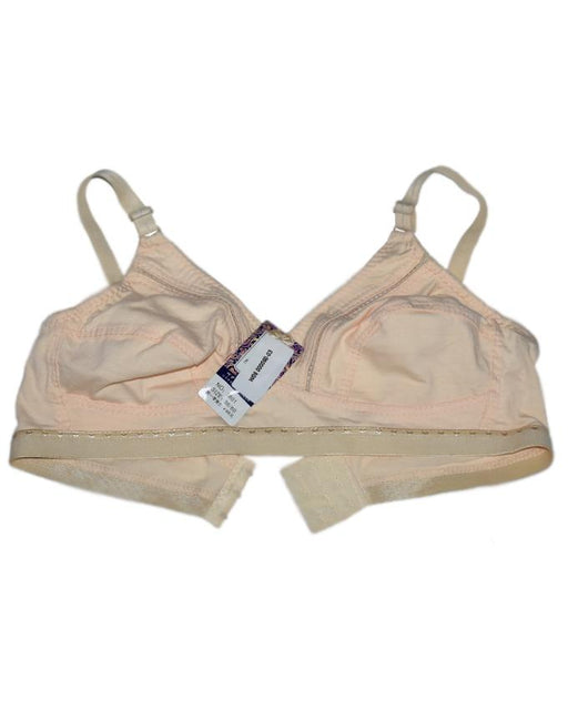 Cream Color Cotton Non Padded Bra - Hiffey