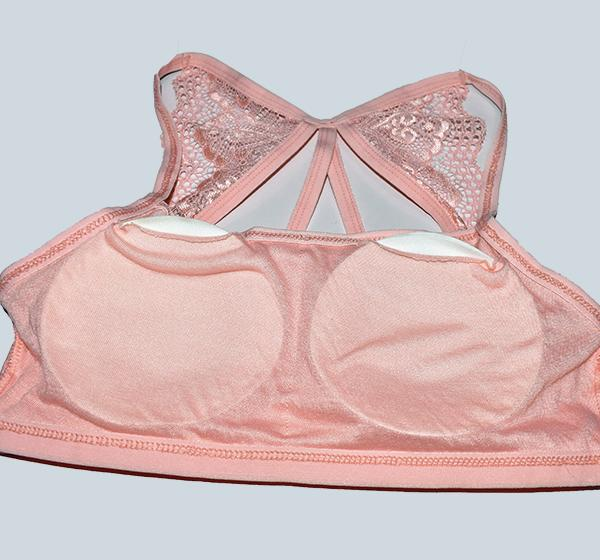 Aire Bra Butterfly Padded - Pink - Hiffey