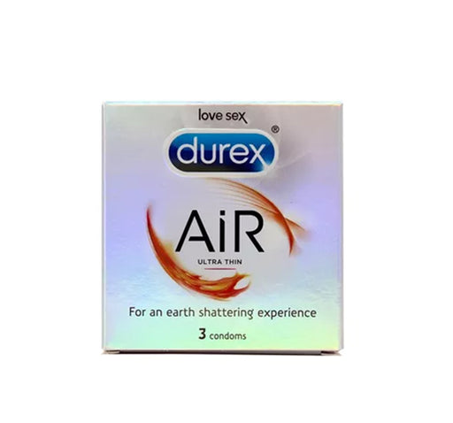 Durex Air Ultra Thin Condoms - Pack of 3 - Hiffey