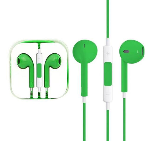 High Quality Stereo Earphone - Green - Hiffey