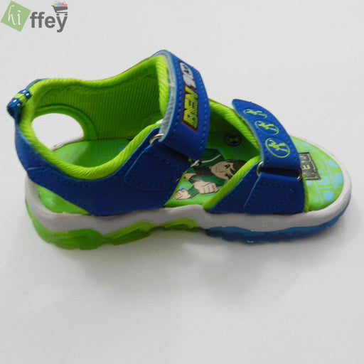 Ben 10 Sandal for Boys-Green - Hiffey