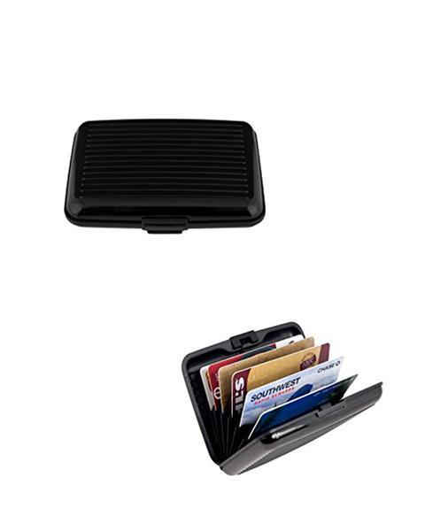 Alluma Wallets for Men and Women - Black - Hiffey