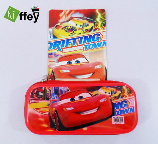 Lightning McQueen Cars Pencil Box for kids - Hiffey