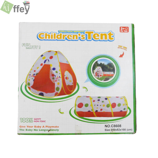 Children Tent With Tunnel - Hiffey
