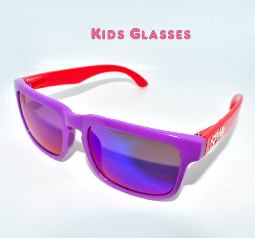 Purple and Red Premium Kids Sunglasses - Hiffey