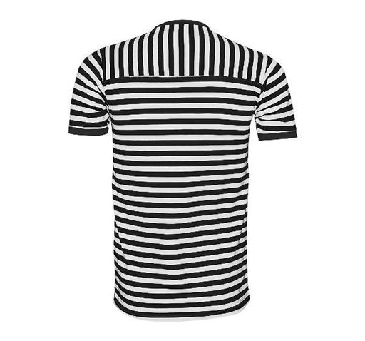 Classic Fashion Lining T-Shirt For Men - Black