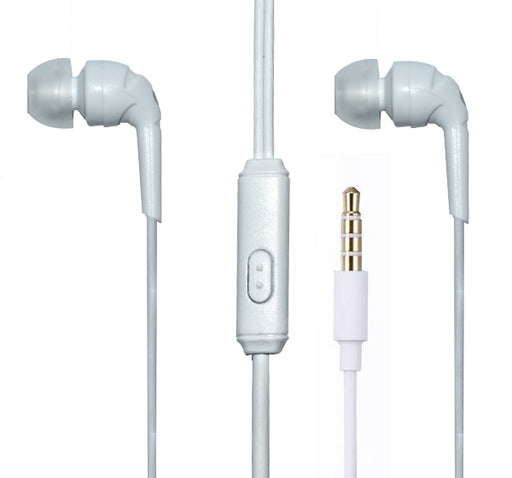 I-Koson Stereo Powerful Bass Earphones - White - Hiffey