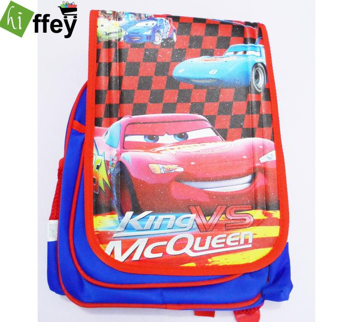 King Vs Lightning Mcqueen - Cars School Bag