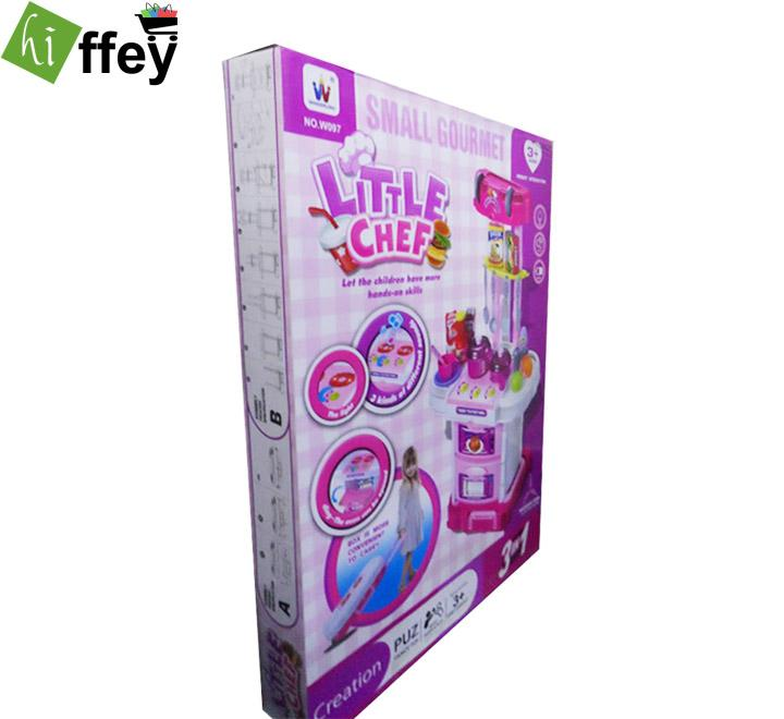 Little Chef Small Gourmet 3in1 Kitchen Play Toy Set