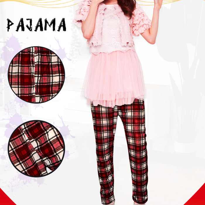 Square Box Line Comfortable Nightwear Pyjama