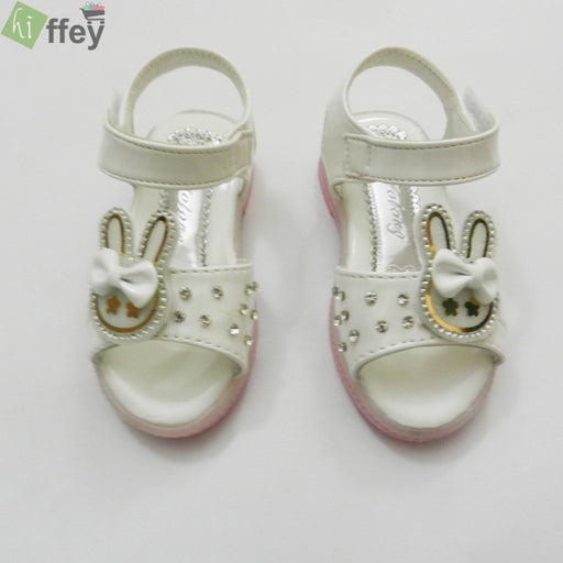 White Rabbit Face Kids Fashion Sandal For Girl - Hiffey