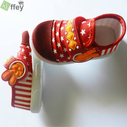 Star Red Shoes for Boys - Hiffey