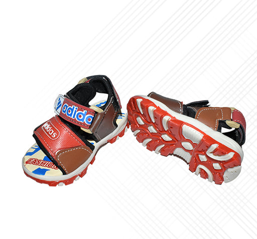 Adidas Sports Sandal For Boys - Red - Hiffey