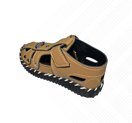 Kids Chip Sandal Light Brown - Hiffey