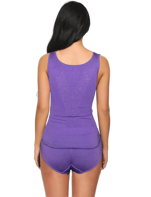 Perfect Fit Style Body Shaper For Women - Purple - Hiffey