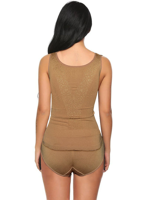 Perfect Fit Style Body Shaper For Women - Brown - Hiffey