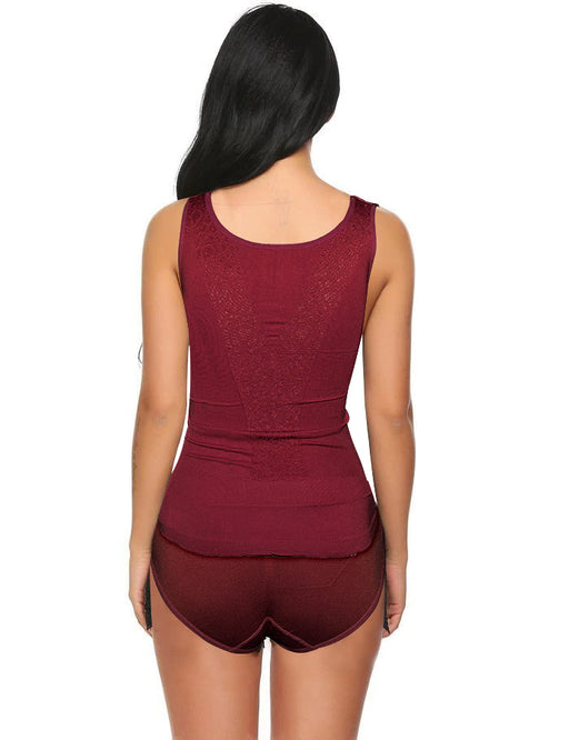 Perfect Fit Style Body Shaper For Women - Maroon - Hiffey