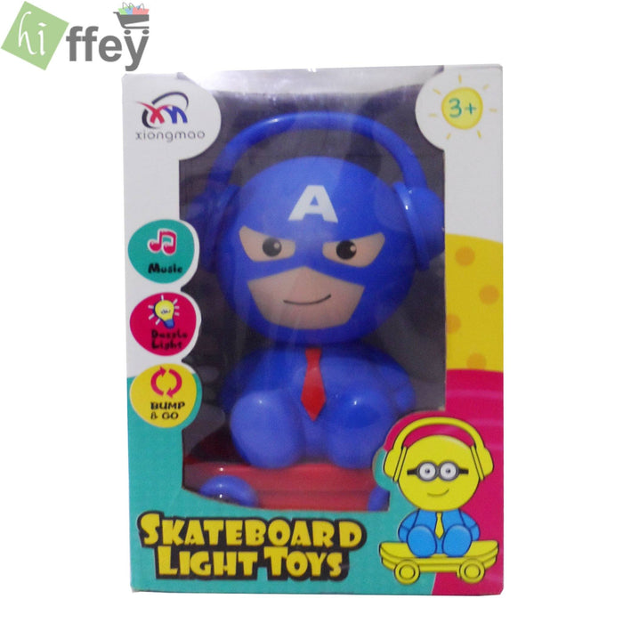 Skateboard Light Toy - Hiffey