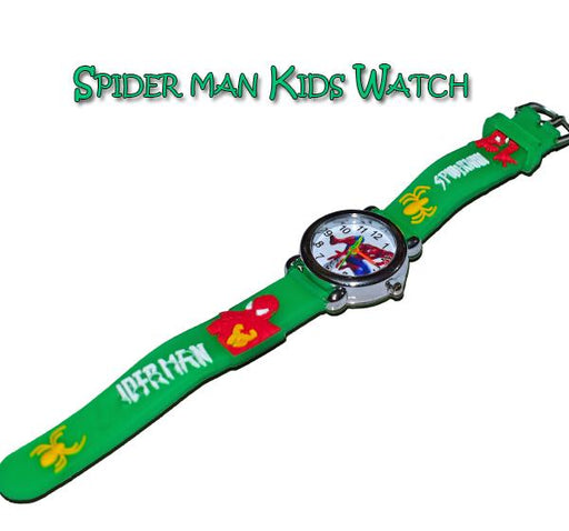 Analog Watch For Kids - Spiderman - Hiffey