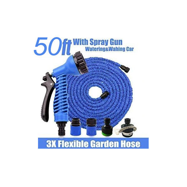 Magic Hose Pipe - 50 Ft - Auto Expandable
