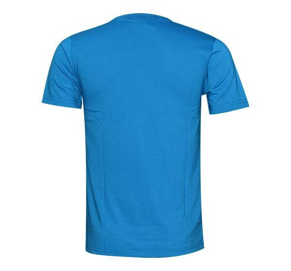 New Summer Slim Fit O Neck T-Shirt For Men - Light Blue - Hiffey