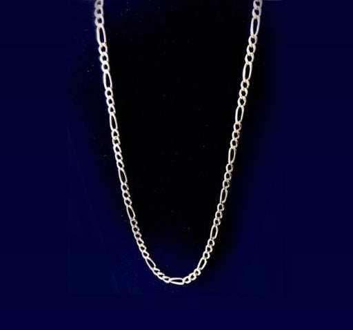 Stainless Metallic Light Weight Chain For Men - Silver - Hiffey