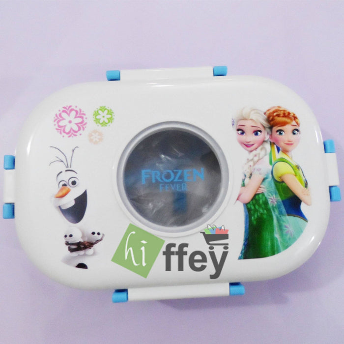 Frozen Stainless Steel Lunch Box with Spoon For Kids - Hiffey
