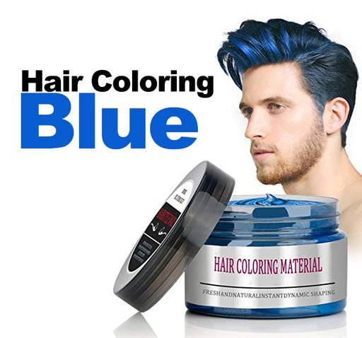 Mofa Jang Magic Hair Coloring Cream - Blue - Hiffey