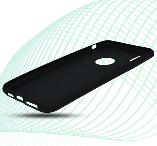Apple Iphone XR Simple Back Cover - Black - Hiffey