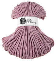 Bobbiny 5mm DUSTY PINK Braided Cord 100m