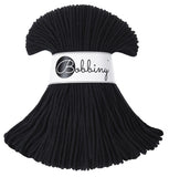 Bobbiny 3mm BLACK Braided Cord 100m