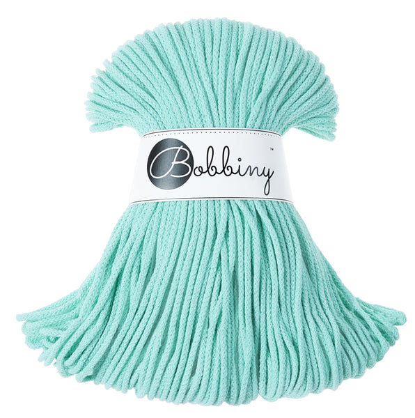 Bobbiny 3mm MINT Braided Cord 100m LAST ITEMS!
