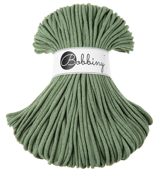 Bobbiny 5mm EUCALYPTUS Braided Cord 100m