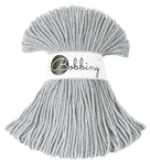 Bobbiny 3mm SILVER Braided Cord 100m