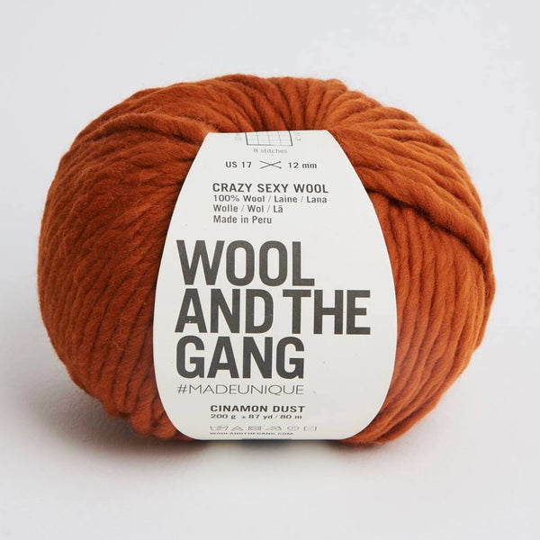 WATG Crazy Sexy Wool CINNAMON DUST