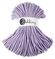 Bobbiny 5mm LAVENDER Braided Cord 100m