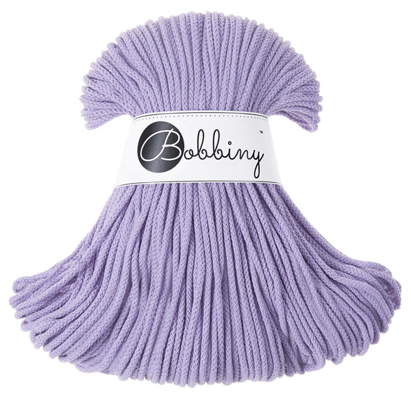 Bobbiny 3mm LAVENDER Braided Cord 100m LAST ITEMS!