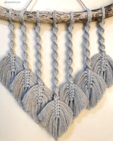 Bobbiny 3mm LIGHT GREY Single Twist Macrame Cord 100m