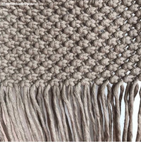 Bobbiny 3mm COFFEE Single Twist Macrame Cord 100m