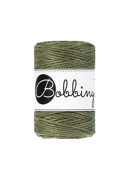 Bobbiny 1.5mm AVOCADO Single Twist Macrame Cord 100m