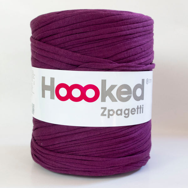 Hoooked Zpagetti T-Shirt Yarn BOYSENBERRY