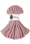 Bobbiny Jumbo 9mm BLUSH Braided Cord 10m