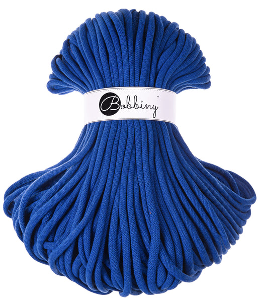Bobbiny Jumbo 9mm CLASSIC BLUE Braided Cord 10m