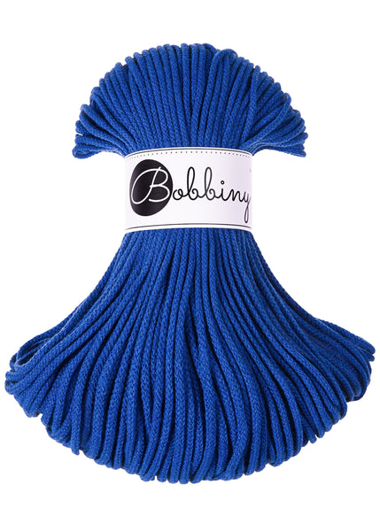 Bobbiny 3mm CLASSIC BLUE Braided Cord 100m