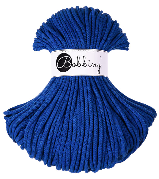 Bobbiny 5mm CLASSIC BLUE Braided Cord 100m